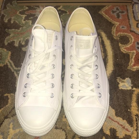 c23f6da13445 Size 13 Men s White Converse Chuck Taylor All Star